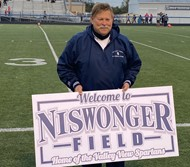 Niswonger and sign